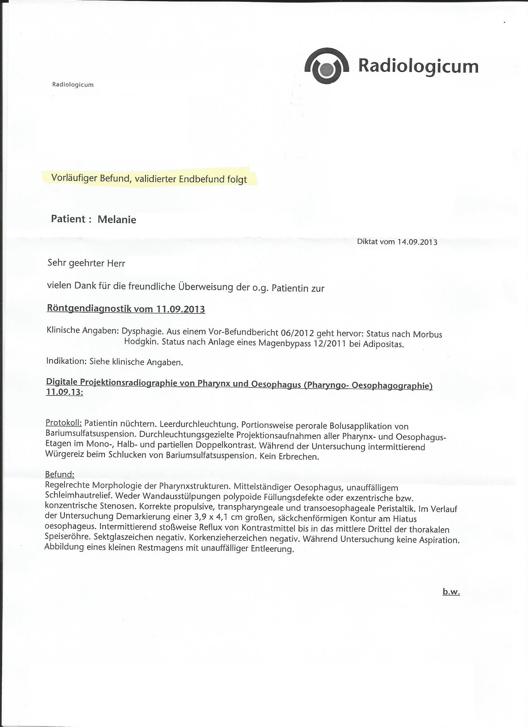 Magenbypass forum